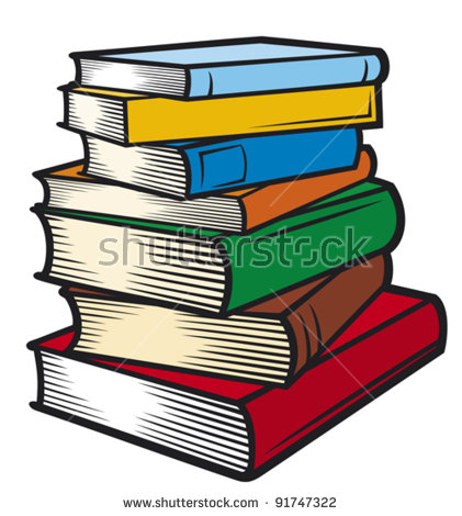 Book jpg clipart vector royalty free library Stack Of Books Stock Images, Royalty-Free Images & Vectors ... vector royalty free library