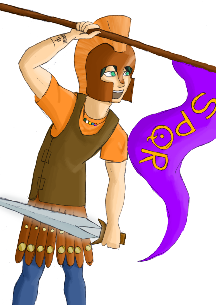 Book lightning thief clipart image free stock Capture the flag victory by CoffeeOtter.deviantart.com on ... image free stock