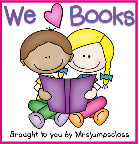 Book love clipart clip art royalty free stock We Love Books Linky! - Mrs. Wills Kindergarten clip art royalty free stock
