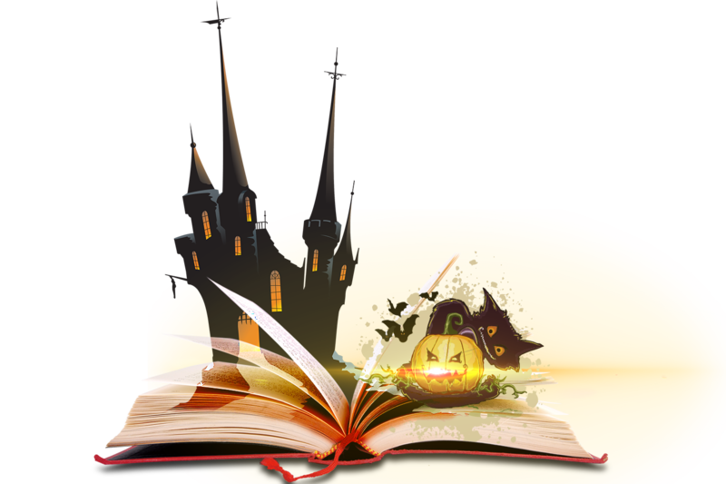 Magic book clipart vector royalty free library Magic Book Halloween PNG by LG-Design on DeviantArt vector royalty free library