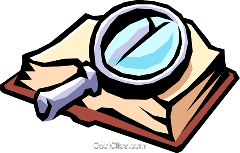 Book magnifying glass clipart vector library Magnifying glass book clipart » Clipart Portal vector library
