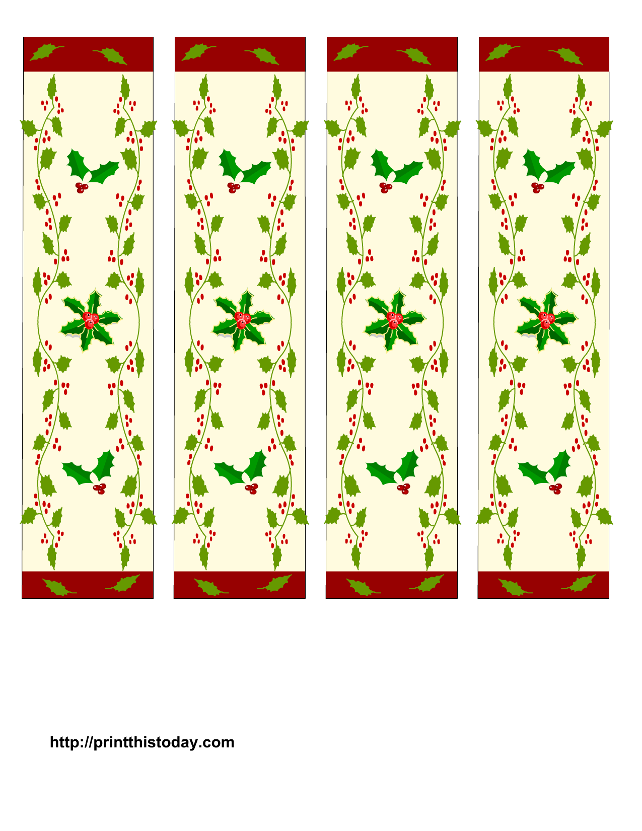 Book mark clipart picture free stock Free+Printable+Christmas+Bookmarks | Christmas | Pinterest ... picture free stock