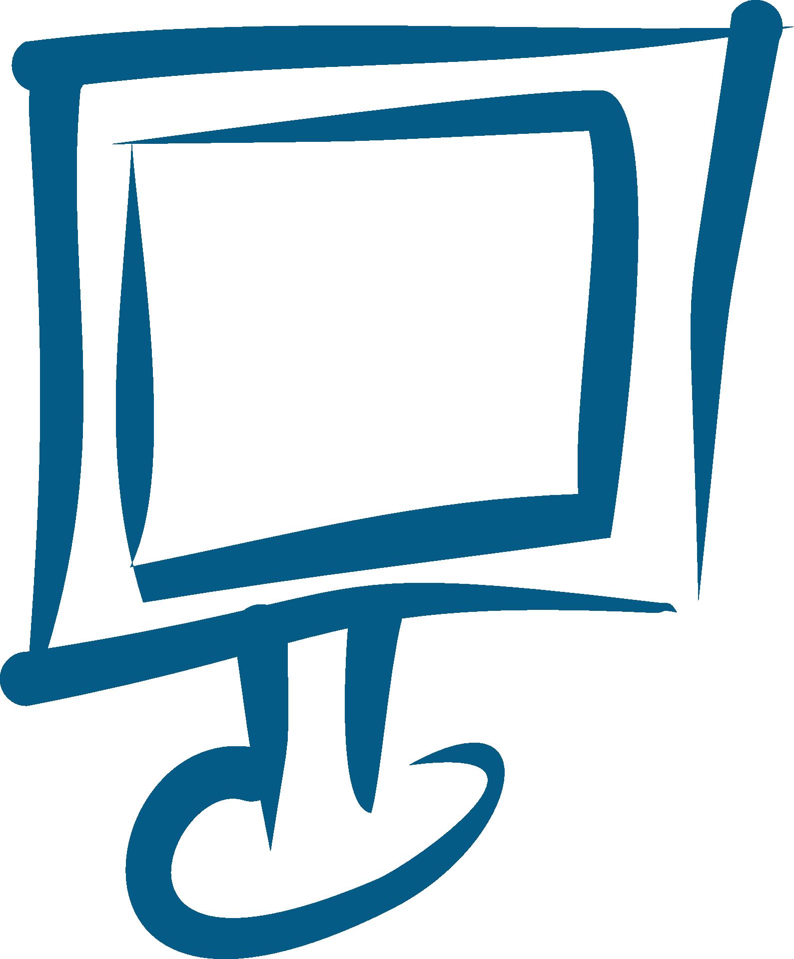 Book monitor clipart vector transparent download Computer Monitor Drawing at GetDrawings.com | Free for personal use ... vector transparent download