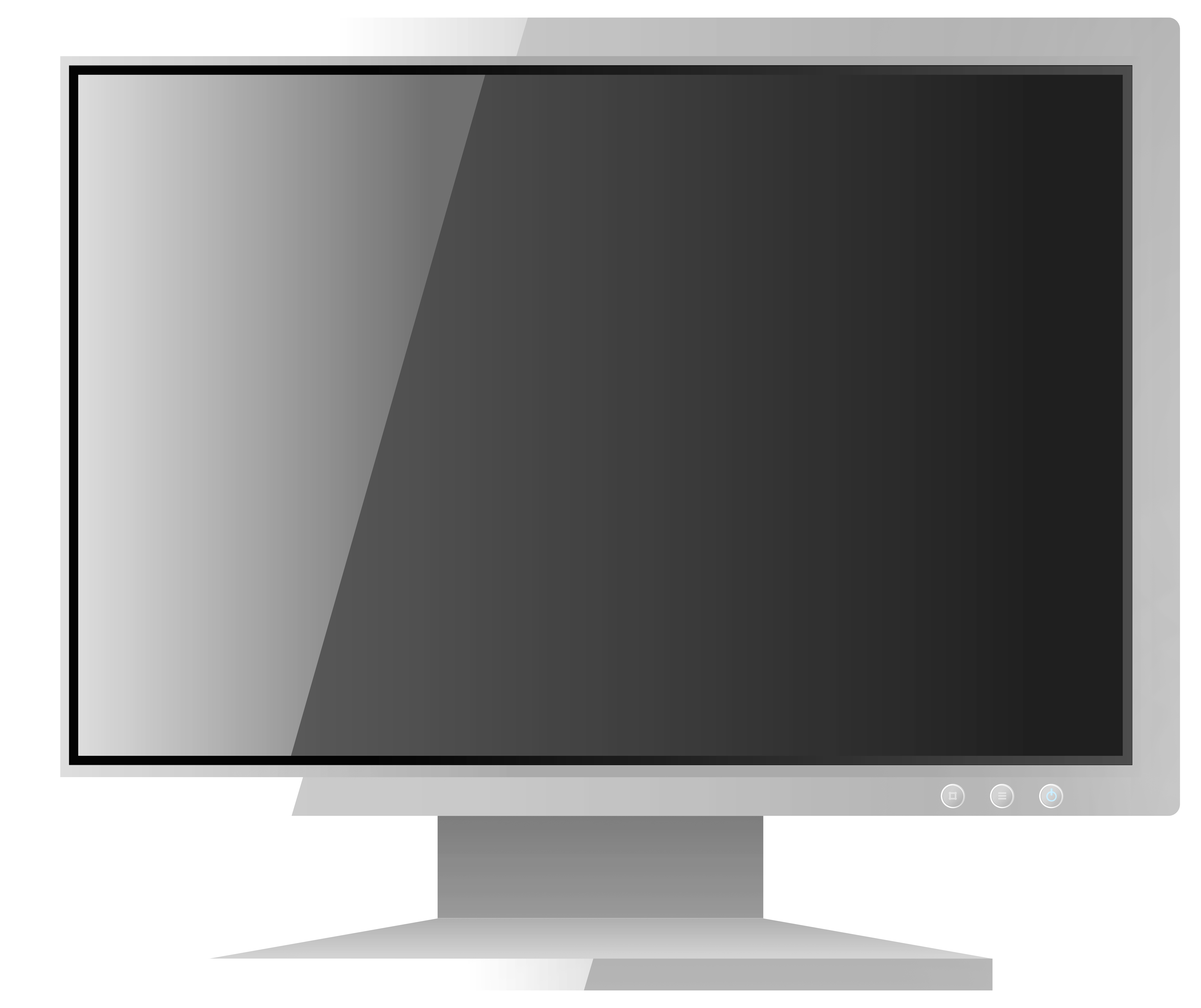 Book monitor clipart png transparent White Computer LCD Monitor PNG Clipart - Best WEB Clipart png transparent