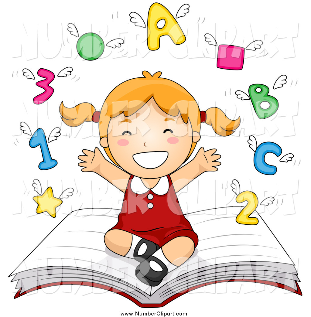 Book of numbers clipart clipart library library Numbers clipart for kids 5 » Clipart Station clipart library library