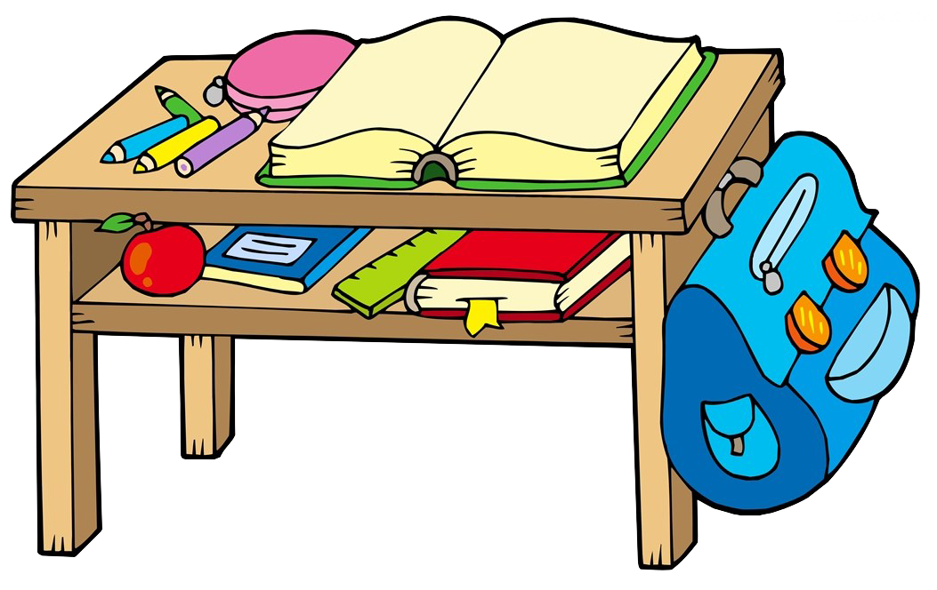 Book on desk clipart png library Classroom School Clip art - The book on the desk 1053*664 transprent ... png library