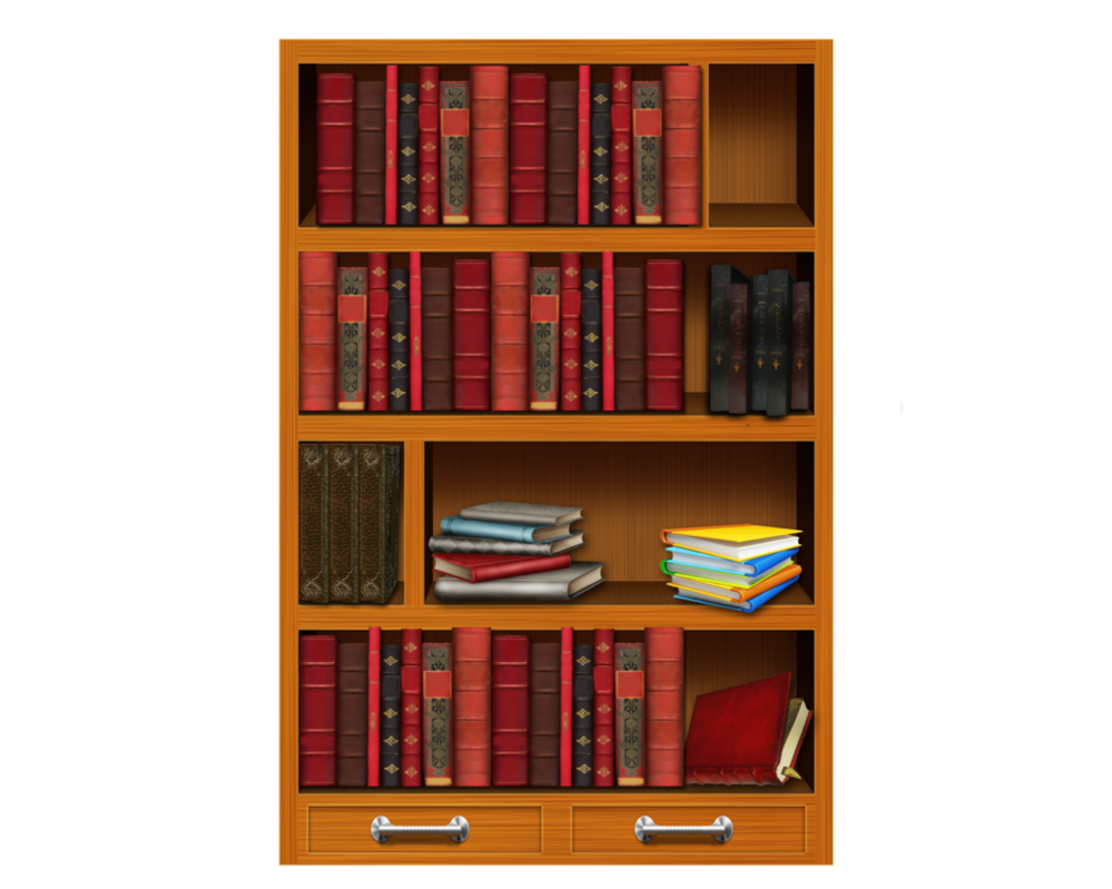 Book on shelf clipart vector transparent stock Bookshelf PNG HD Transparent Bookshelf HD.PNG Images. | PlusPNG vector transparent stock
