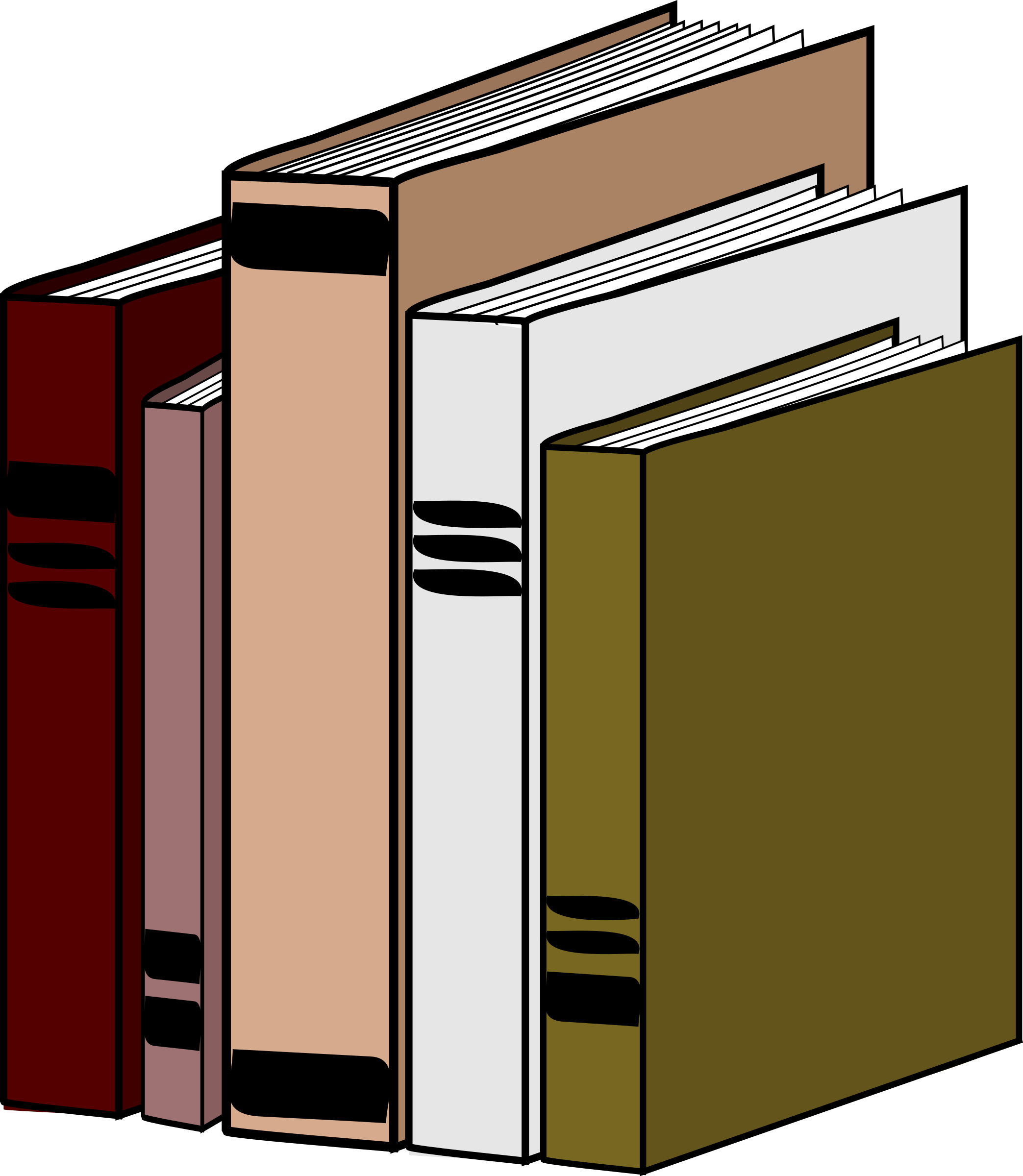 Book on shelf clipart vector royalty free library Clipart - Books vector royalty free library