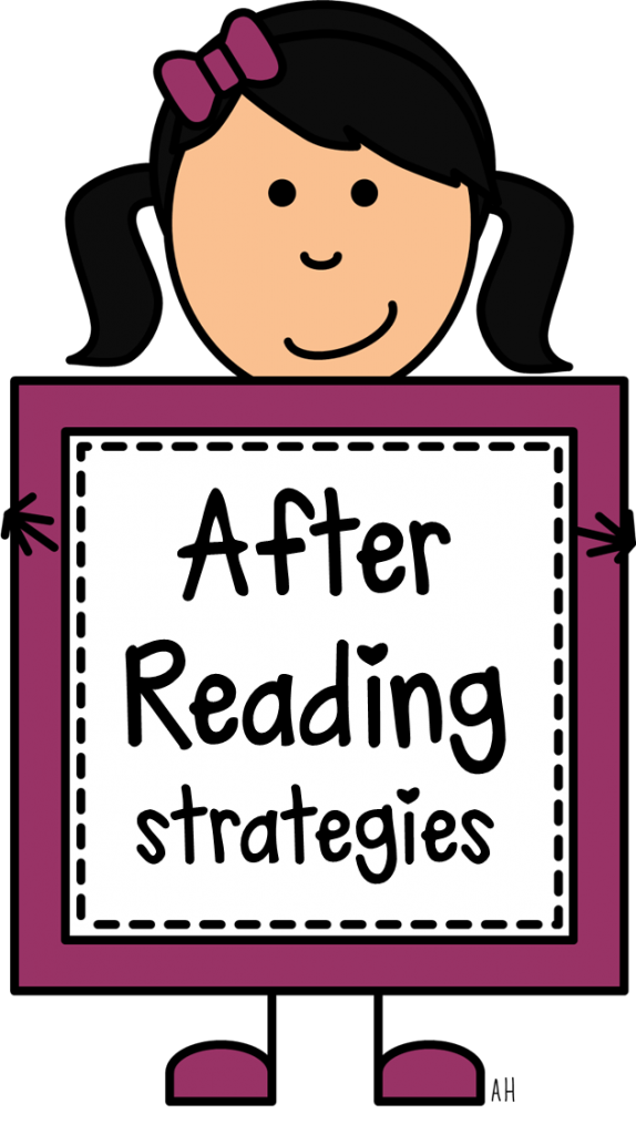 Book order clipart vector library library Comprehension Strategies - After Reading - Play to Learn vector library library