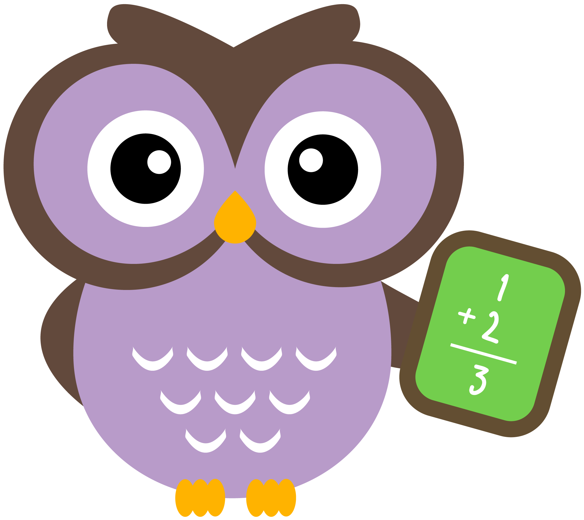 Owl reading book clipart clip art transparent stock I Love Math | Use these free images for your websites, art projects ... clip art transparent stock