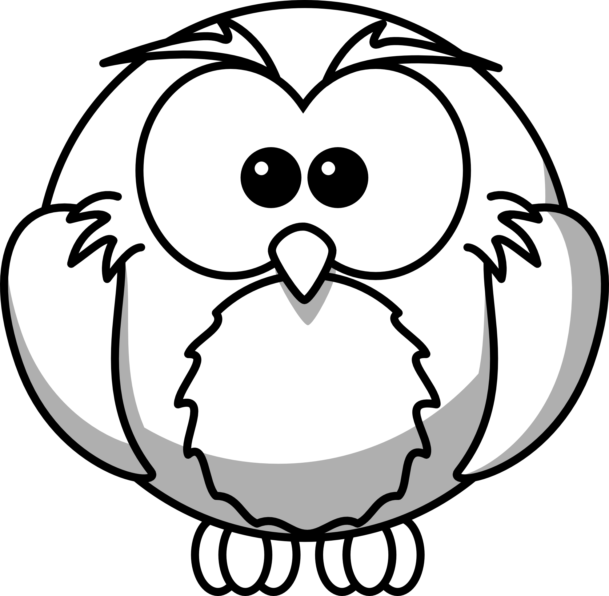 House fly clipart black and white vector transparent stock Owl Clipart Black And White | Clipart Panda - Free Clipart Images vector transparent stock