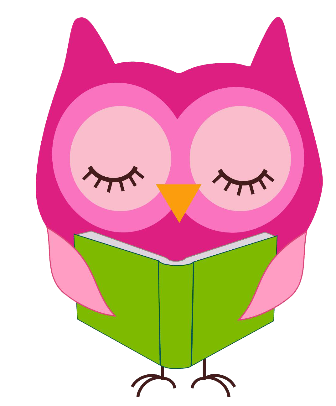 Owl reading book clipart svg transparent Owl Reading Clip Art Cliparts Co … | clip are… svg transparent