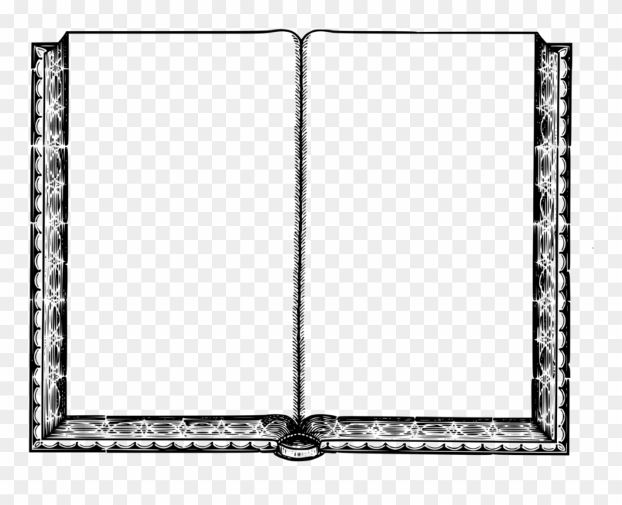 Book page blank clipart black and white clipart royalty free library Empty Book Intentionally Blank Page Book Cover Coloring - Blank Page ... clipart royalty free library