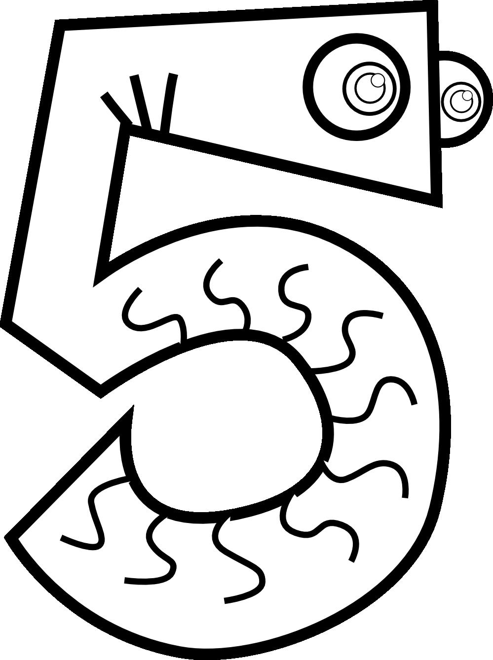 Book panda free clipart vector transparent Number 4 Black And White Clipart #1882519 vector transparent