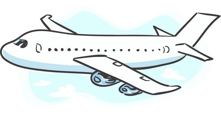 Number one airplane clipart png download Cute Airplane | Graduated and Looking...: October 2011 | Cartoon ... png download