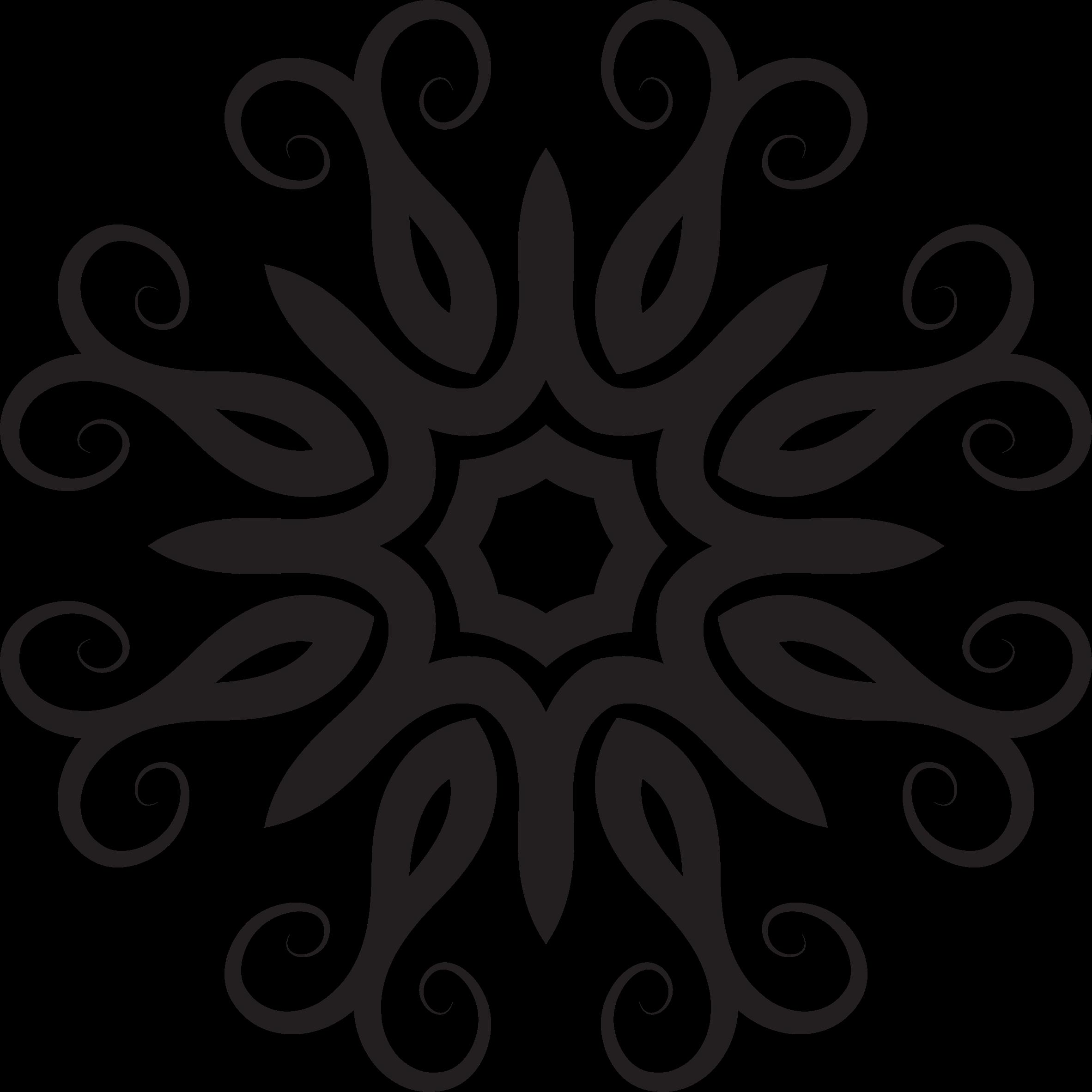 Book shape clipart clip stock Clipart - Floral Shape 3 clip stock