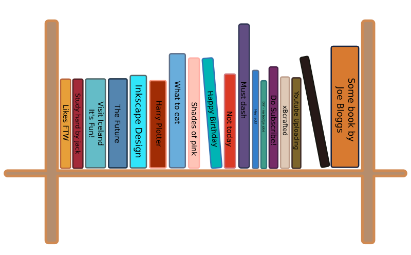 Clipart of a book shelf svg Clipart - Book Shelf Speed Designed svg