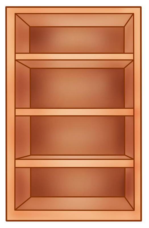 Book shelf clipart clip free шкаф.png | Pinterest | Clip art, Doll houses and Dolls clip free