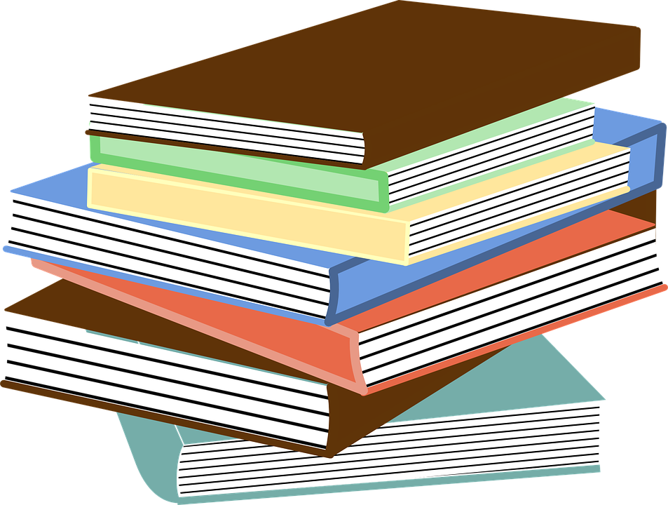 Book shopping clipart image black and white download Graphics Of Books Group (67+) image black and white download