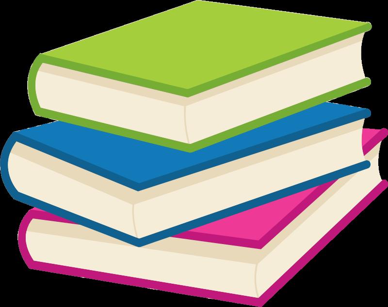 Book stacks clipart clipart transparent download Clipart - Stack of books clipart transparent download