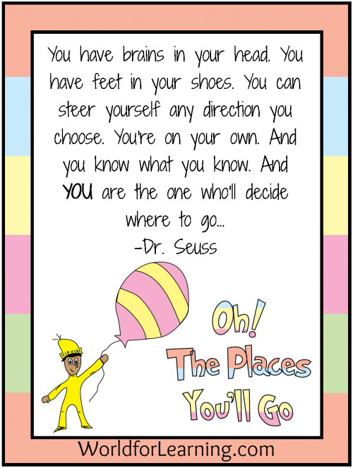 Book tasting clipart clipart transparent stock Oh, the Places You'll Go! {FREE Printable - When I Grow Up ... clipart transparent stock