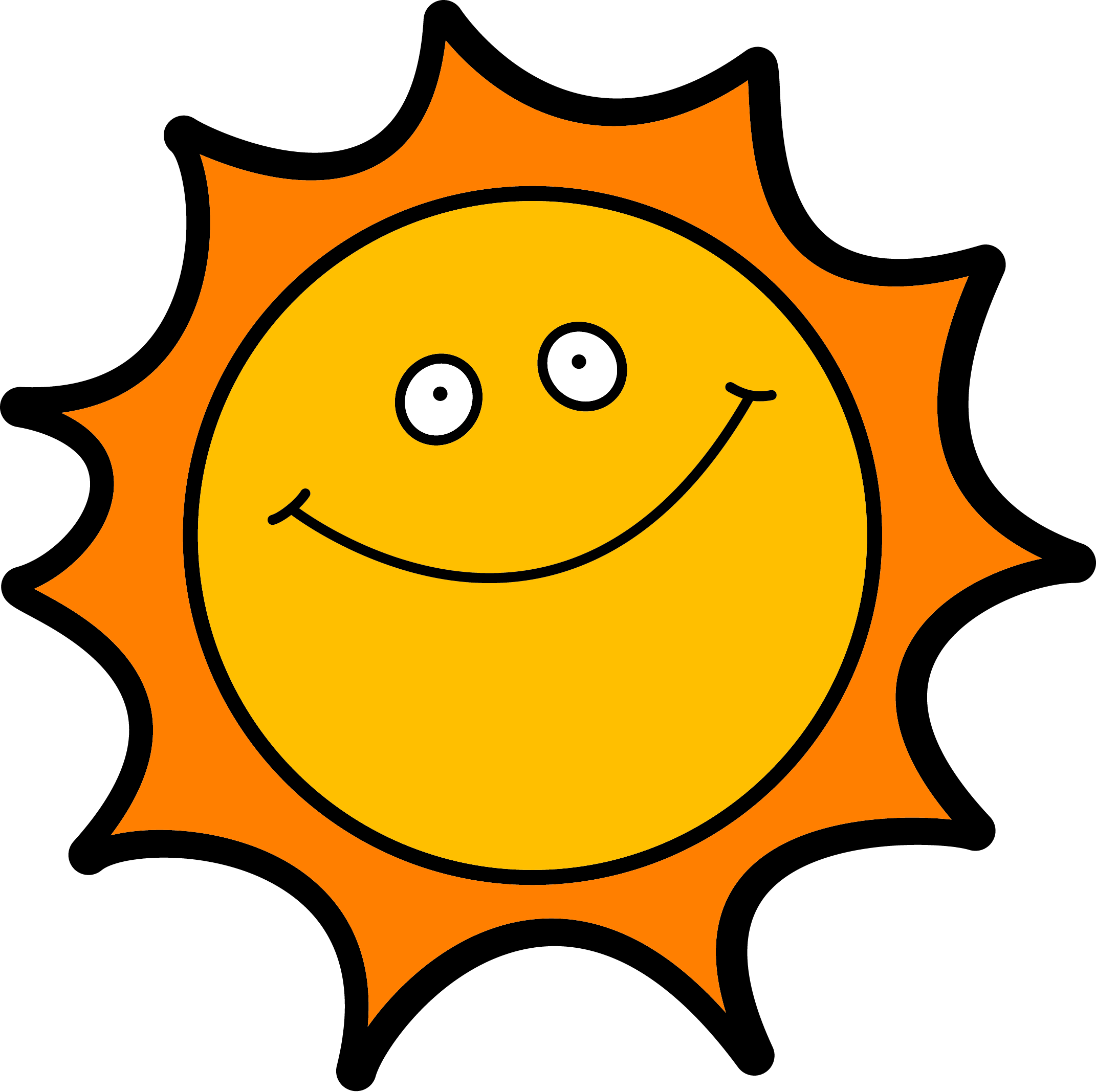 Time free download best. Enjoying the sun clipart
