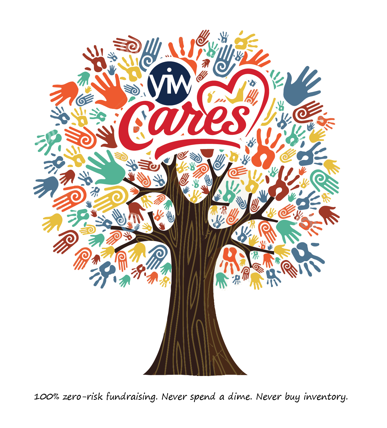 Diversity tree clipart png transparent library YIW-Cares - Your Image Works, Inc. png transparent library