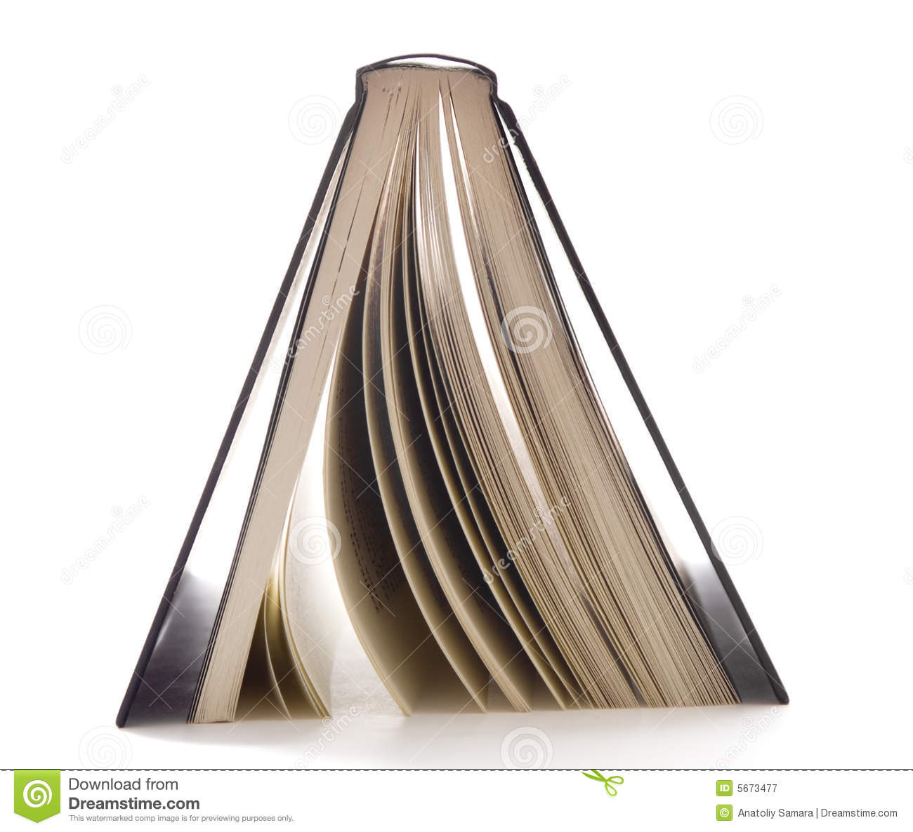Book upside down clipart