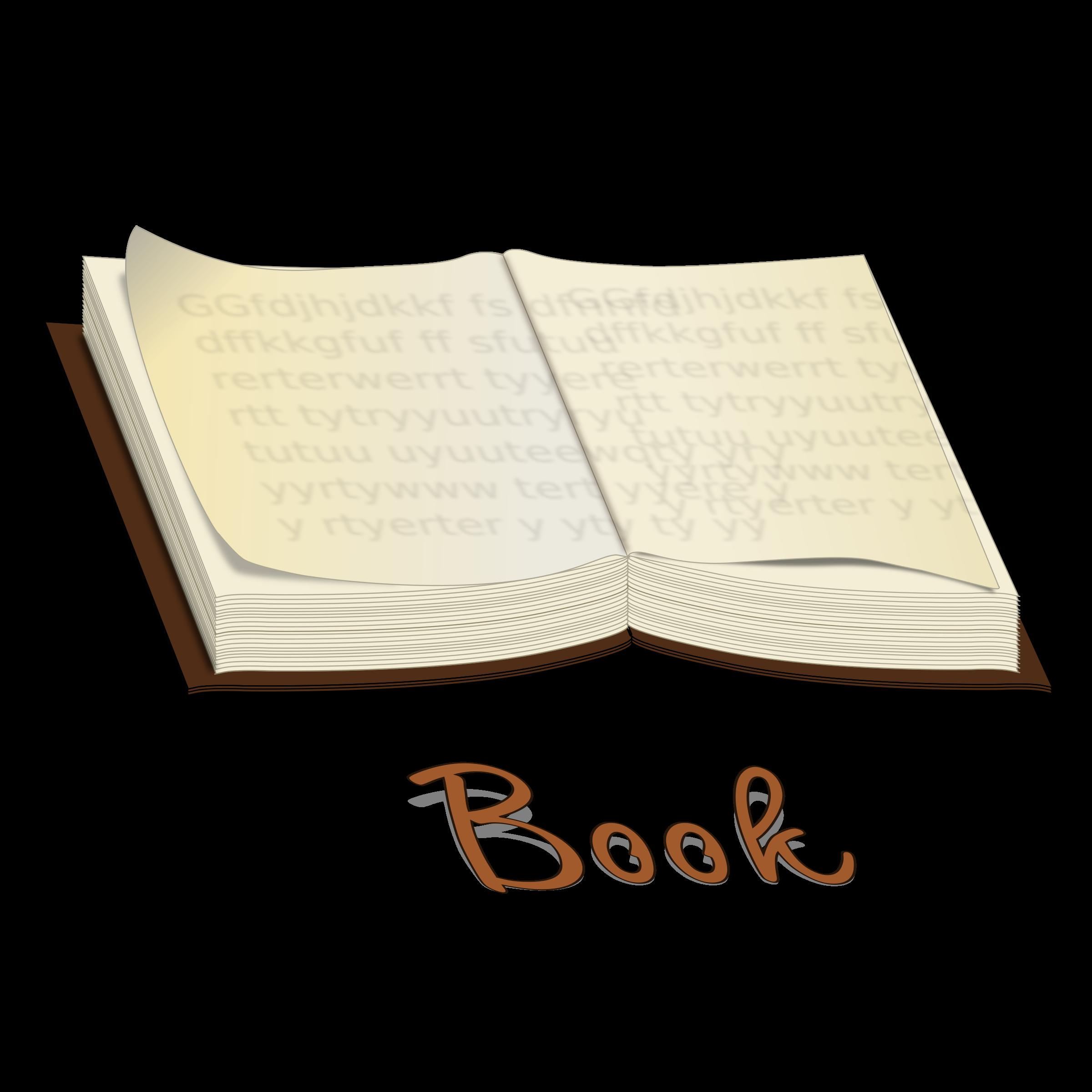 Book vector clipart stock Clipart - Vector Book stock