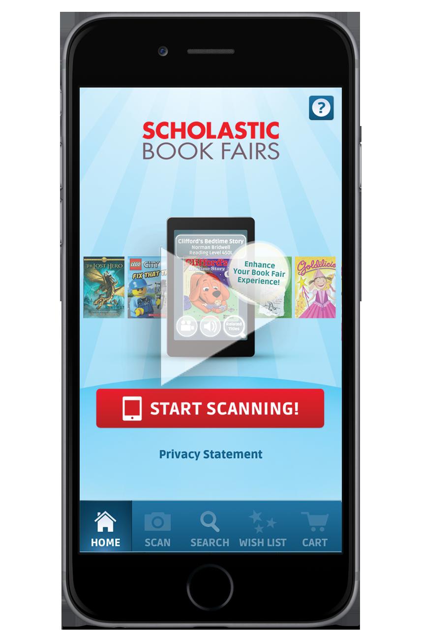 Scholastic book fair 2018 clipart clip transparent library The Book Fairs App | Scholastic Book Fairs clip transparent library