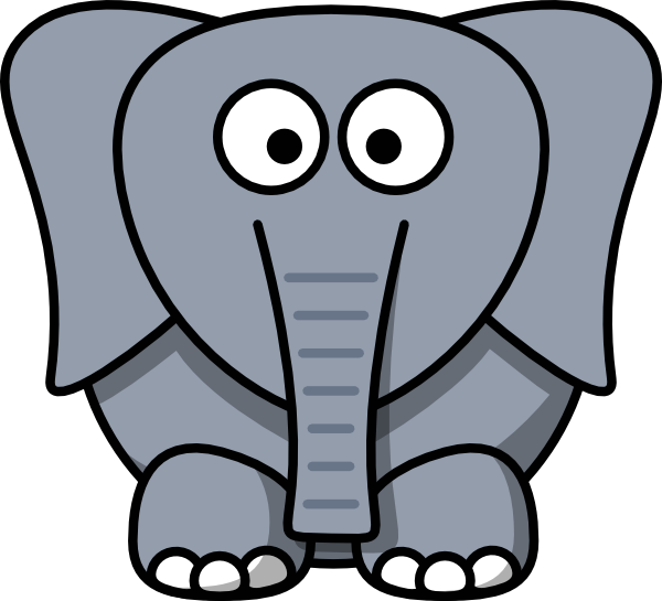 Book with face clipart svg library download Elephants Face Drawing at GetDrawings.com | Free for personal use ... svg library download
