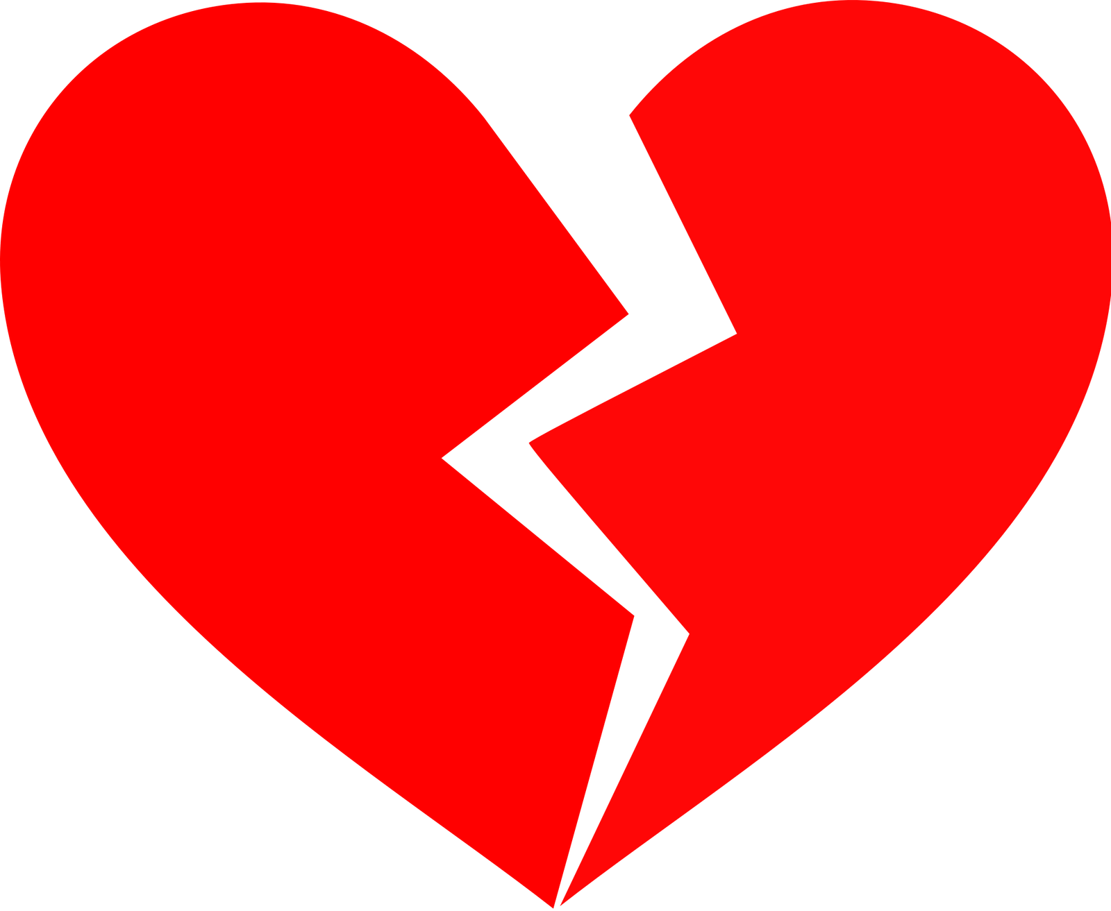 Heart clipart black banner transparent stock Free Heart Halves Cliparts, Download Free Clip Art, Free Clip Art on ... banner transparent stock