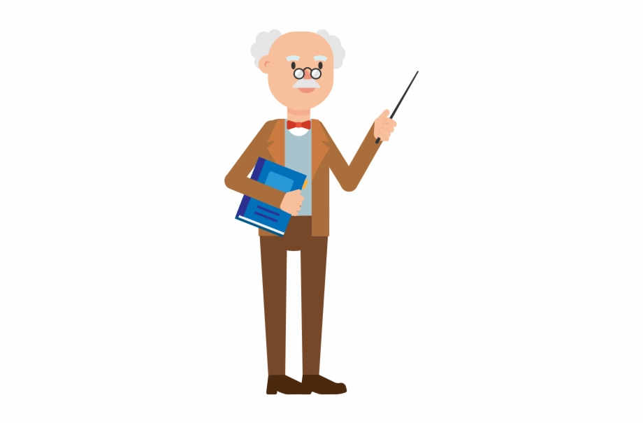 Booking holdings clipart image library download Professor Holding A Book Cartoon - Cartoon Free PNG Images & Clipart ... image library download