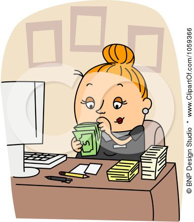 Bookkeeping clipart free