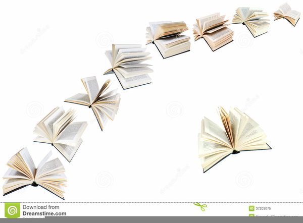 Books flying clipart jpg royalty free library Flying Book Clipart | Free Images at Clker.com - vector clip art ... jpg royalty free library