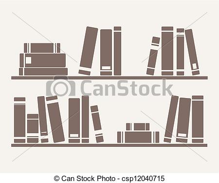 Books graphics svg Vector Clip Art of Books on the shelf vector - Books on the ... svg