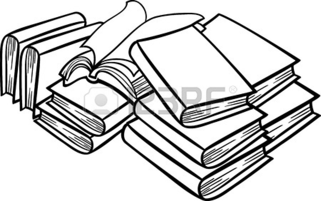 Textbooks clipart black and white picture transparent download Books Black And White Clipart | Free download best Books Black And ... picture transparent download