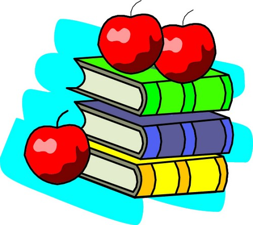 Books with apple clipart jpg freeuse library Teacher Apple Clipart | Clipart Panda - Free Clipart Images jpg freeuse library