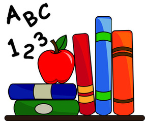 Books with apple clipart jpg transparent Books with apple clipart - ClipartFest jpg transparent