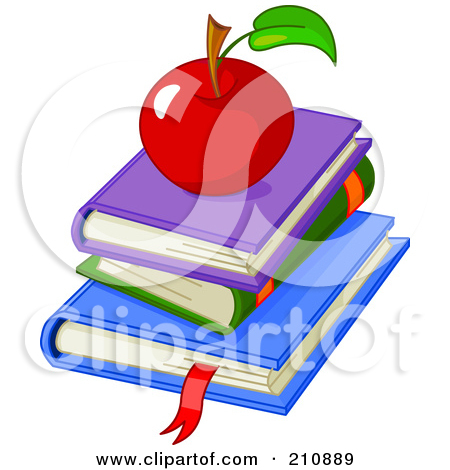 Books with apple clipart image free Royalty Free Apple Illustrations by Pushkin Page 1 image free