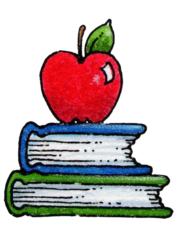 Book apple clipart clip art download Student School Paper Drawing Clip art - Books and apple 600*800 ... clip art download