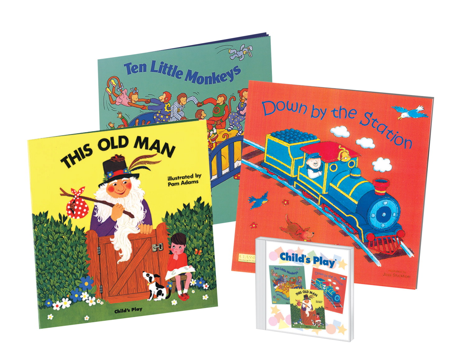 Books with cd image freeuse Kids Literature - 273400 - Child's Play Classic Books with Holes ... image freeuse