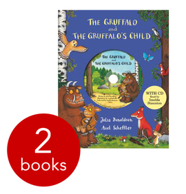 Books with cd graphic free library The Gruffalo Anniversary Edition Set - 2 Books with CD: Julia ... graphic free library