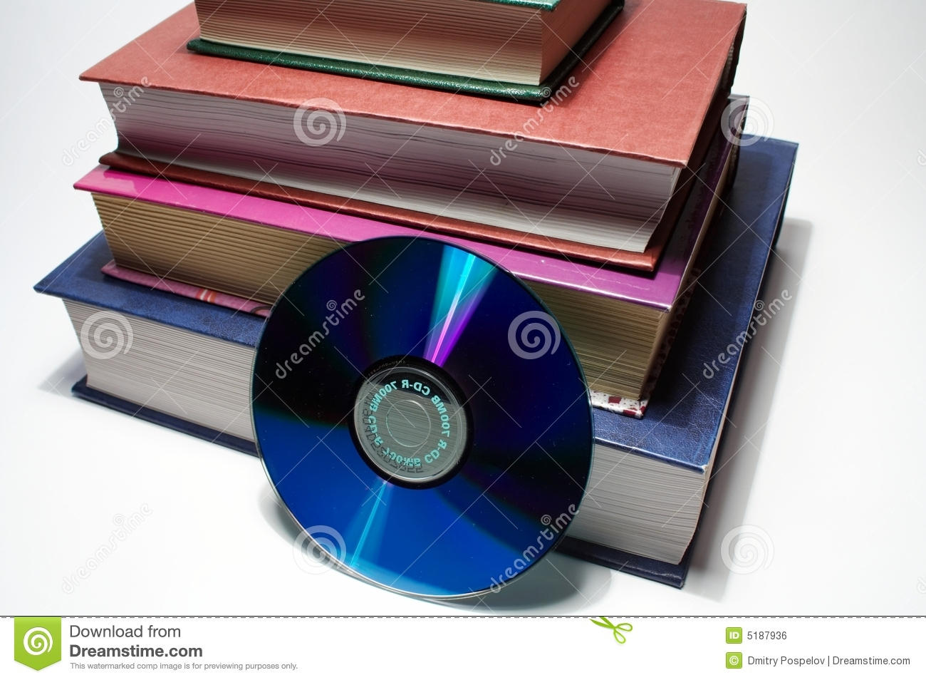 Books with cd banner free library Books And CD Royalty Free Stock Image - Image: 5187936 banner free library