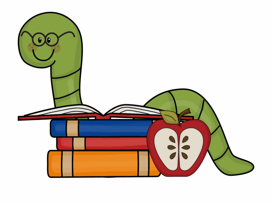 Bookworm clipart png clip library stock Pile Of Books Clip Art - Clipart Bookworm Free PNG Images & Clipart ... clip library stock