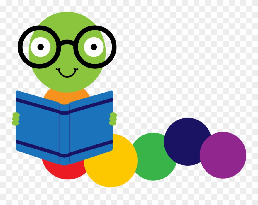 Bookworm clipart png free download Library Clipart Bookworm - Clip Art Book Worm - Png Download ... free download