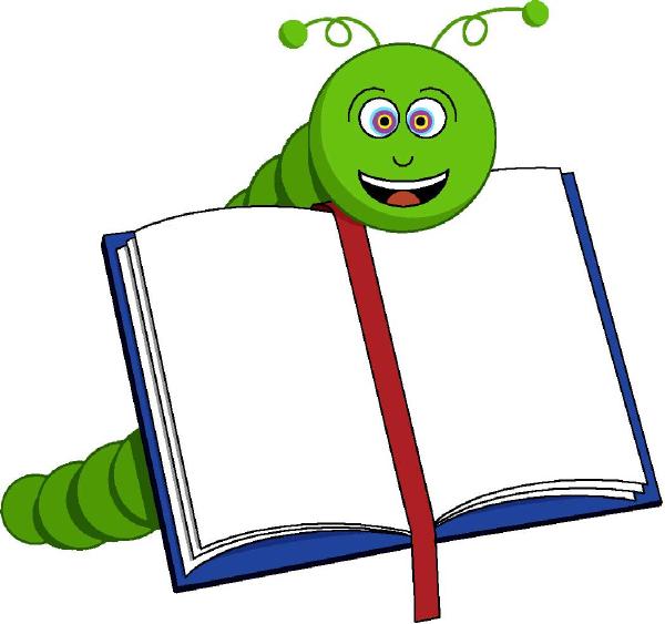Bookworm clipart png image royalty free Bookworm Clip Art at Clker.com - vector clip art online, royalty ... image royalty free