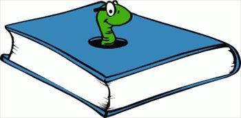 Bookworm graphics jpg transparent Free bookworm-blue Clipart - Free Clipart Graphics, Images and ... jpg transparent