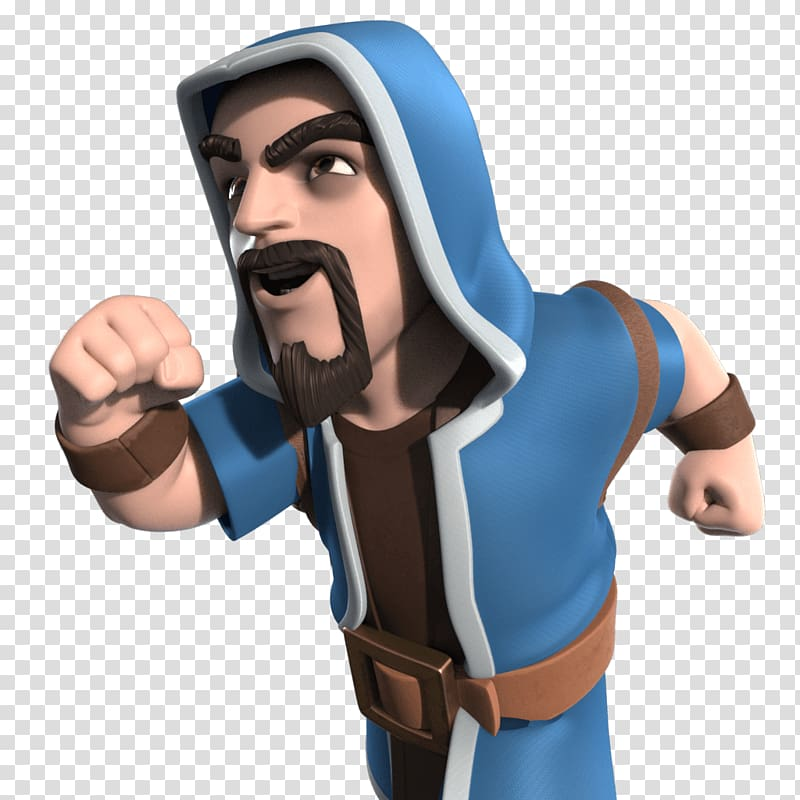 Clash of clans wizard clipart image free download Clash Royale Clash of Clans Boom Beach The Musketeer Bitly, Wizard ... image free download