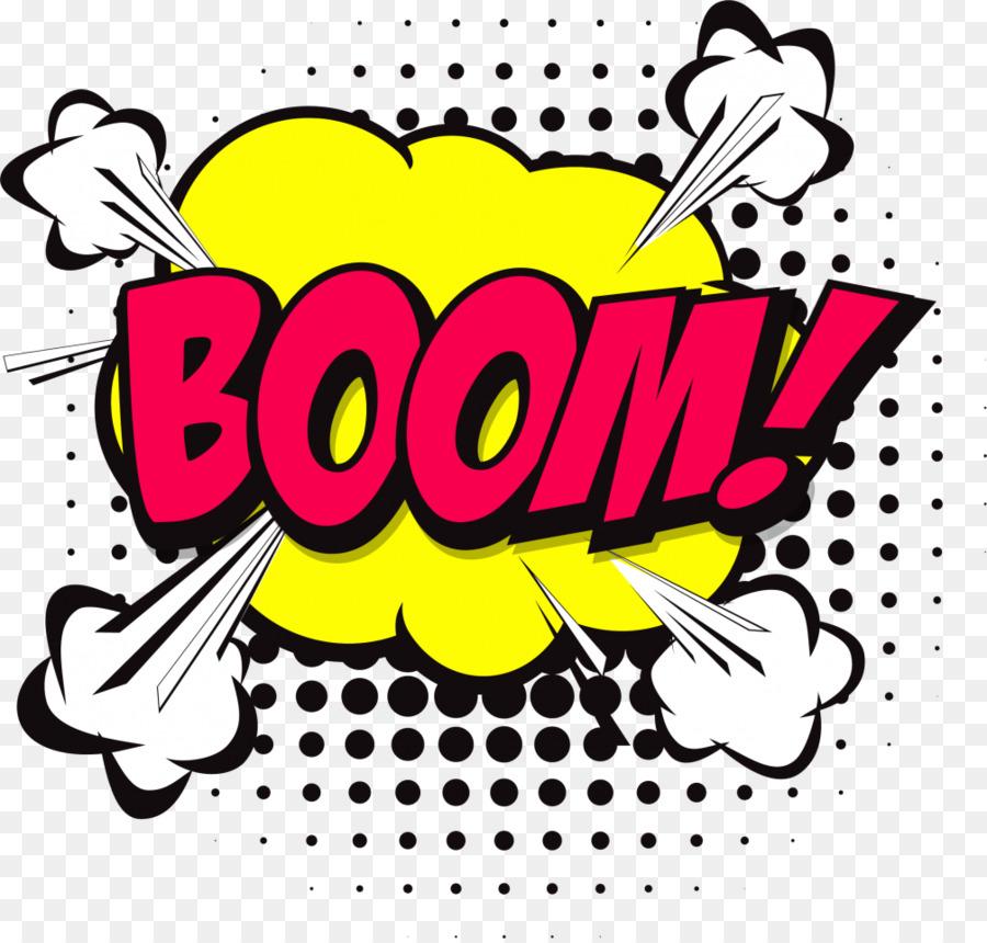 Boom clipart transparent Comic Book Boom clipart - Text, Yellow, Font, transparent clip art transparent